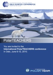 Oslo Science Conference Teacher Flyer